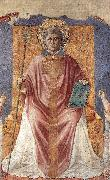 St Fortunatus Enthroned sdg GOZZOLI, Benozzo